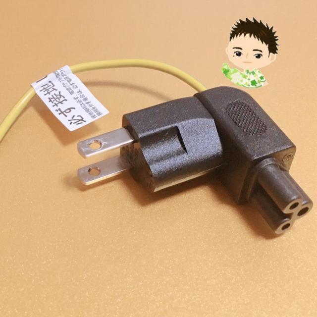 ミッキー型 ACダイレクトプラグ LT-109 スマホ/家電/カメラのPC/タブレット(PC周辺機器)の商品写真
