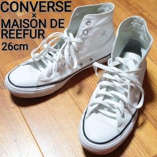メゾンドリーファー(Maison de Reefur)のCONVERSE スニーカー 26cm MESON DE REEFUR コラボ (スニーカー)