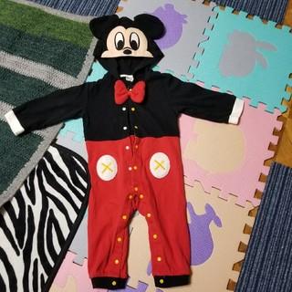 Disney - ミッキーマウス 90 なりきりカバーオール