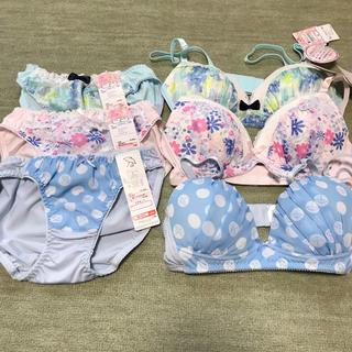 シマムラ(しまむら)の新品 下着 S ブラジャー ショーツ セット 3セット まとめ売り パンツ(ブラ&ショーツセット)