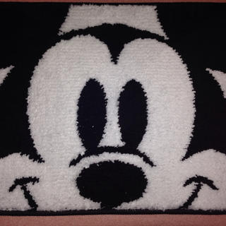 ミッキー ふわふわ フロア マット Disney