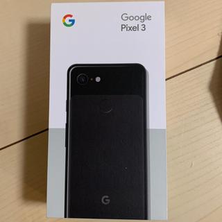 ANDROID - Google pixel3 64GB Just Black