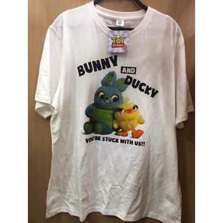 トイストーリー(トイ・ストーリー)の新品 トイストーリー4 tシャツ 大きいサイズ toystory disney (Tシャツ/カットソー(半袖/袖なし))