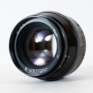 ライカ(LEICA)のジュピター8 Jupiter-8 50mm f2 ライカLマウント 清掃済み(レンズ(単焦点))
