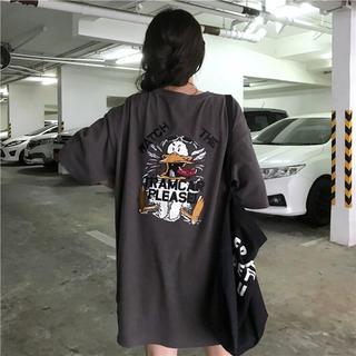 新作 バッグプリント ビッグ Tシャツ(Tシャツ/カットソー(半袖/袖なし))