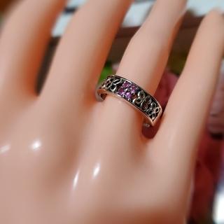 ピンクサファイア0.16リング(リング(指輪))