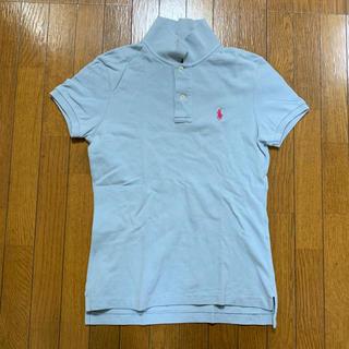 ポロラルフローレン(POLO RALPH LAUREN)の水色 ポロシャツ(ポロシャツ)