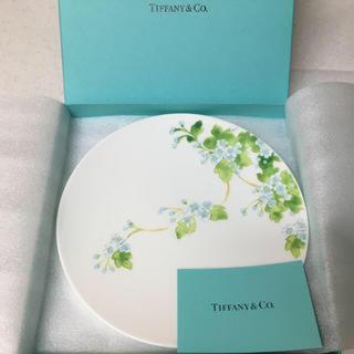 ティファニー(Tiffany & Co.)のtiffany&co リーフ デザート プレート(食器)