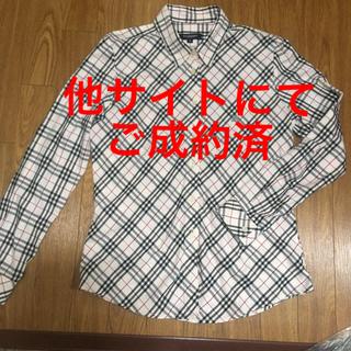 BURBERRY - 【美品】バーバリー 長袖 ノバチェックシャツ L