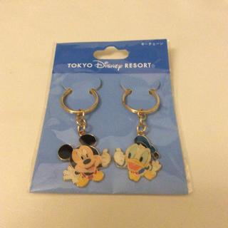 Disney - ディズニー ミッキー ドナルド キーホルダー