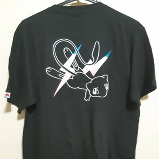 サンダーボルト THUNDERBOLT TシャツL(黒ミュウ)
