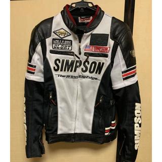 SIMPSON - シンプソンバイクメッシュジャケット Mサイズ