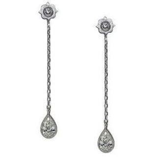 Tiffany & Co. - フルオーダーメイド ダイヤモンド ピアス ペアシェイプ 計約0.3ct