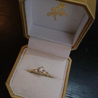 シチズン(CITIZEN)の美女と野獣 ダイヤモンド エンゲージリング(リング(指輪))