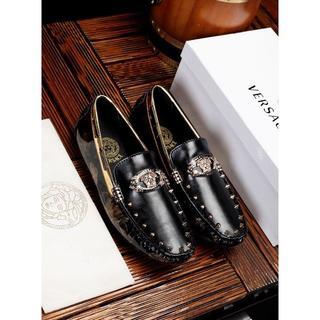 VERSACE - ヴェルサーチ 皮靴