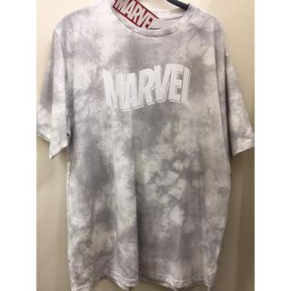 マーベル(MARVEL)の数日限定 新品 MARVEL tシャツ グレー メンズ 大きいサイズ(Tシャツ/カットソー(半袖/袖なし))
