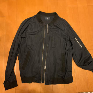 SHAGGY  MA-1 ブルゾン  黒(ブルゾン)
