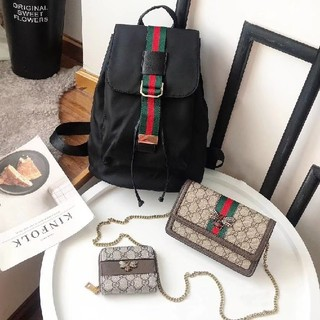 Gucci - バックパック/メッセンジャーバッグ/財布 特価3点セット