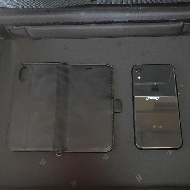 iPhone(アイフォーン)のIPhone XR 64GB ブラック スマホ/家電/カメラのスマートフォン/携帯電話(スマートフォン本体)の商品写真