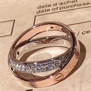 カルティエ(Cartier)の定番人気のカルティエ ミニラブリング(リング(指輪))