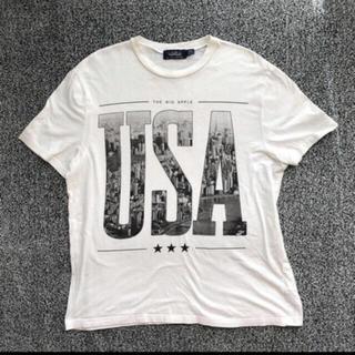 """トップマン(TOPMAN)のTOPMAN グラフィックTシャツ  ''USA"""" Lサイズ(Tシャツ/カットソー(半袖/袖なし))"""