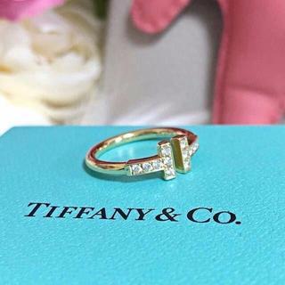 Tiffany & Co. - ティファニー ダイヤ Tワイヤー リング