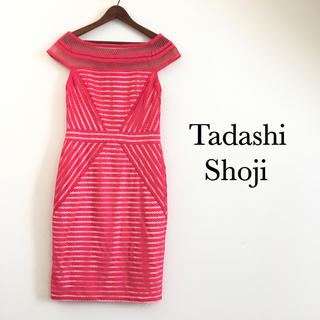 TADASHI SHOJI - 美品 タダシショウジ オフショルダー ワンピース
