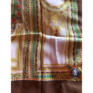 パテックフィリップ(PATEK PHILIPPE)のパテックフィリップの総柄のシルクスカーフ 非売品 レア(バンダナ/スカーフ)
