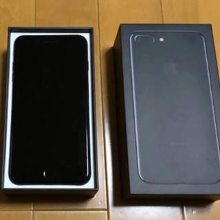 iPhone - 良美品 iPhone 7 Plus Jet Black 256GB SIMフリー