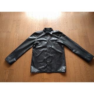 Chrome Hearts - ★お値段見直しました★ クロムハーツ レザーシャツ(レザージャケット) 初期