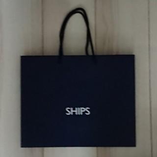 シップス(SHIPS)のSHIPS ショッパー 紙袋(ショップ袋)