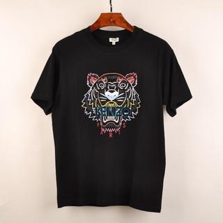 ケンゾー(KENZO)のケンゾーXL黒 半袖Tシャツ07kenzoタイガープリント メンズ カットソ新品(Tシャツ/カットソー(半袖/袖なし))
