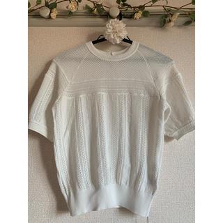 Couture Brooch - 【新品未使用】透かし編みプルオーバー