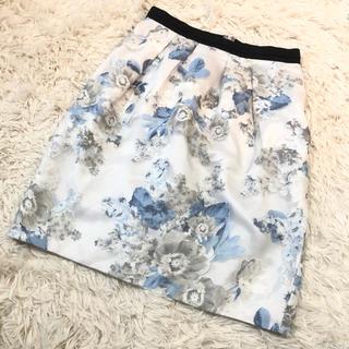 Apuweiser-riche - アプ♡花柄タイトスカート