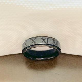 アラメガタングステン リング  ブラック(リング(指輪))