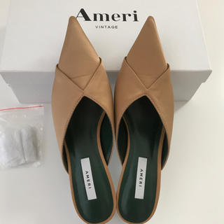 AMERI 2WAY POINTED TOE MULE  Sサイズ