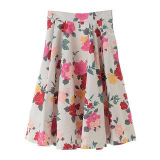 31 Sons de mode - 新品タグ付 31 Sons de mode マルチカラー花柄スカート