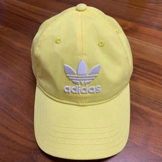 adidas - adidas originals キャップ 黄色 CD6974
