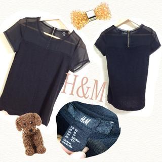 エイチアンドエム(H&M)のH&M 今期新品未使用シースルーT(Tシャツ(半袖/袖なし))