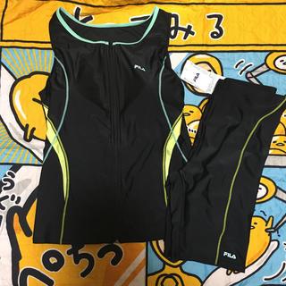 フィラ(FILA)の新品 FILA 競泳水着 セパレート タンクトップ型 15LL イエロー(水着)
