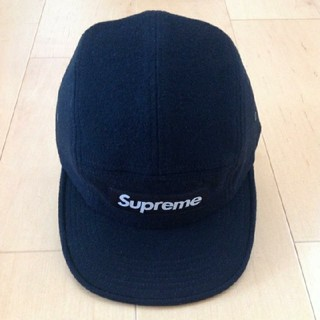 Supreme - シュプリーム × ロロピアーナ 黒 キャップ