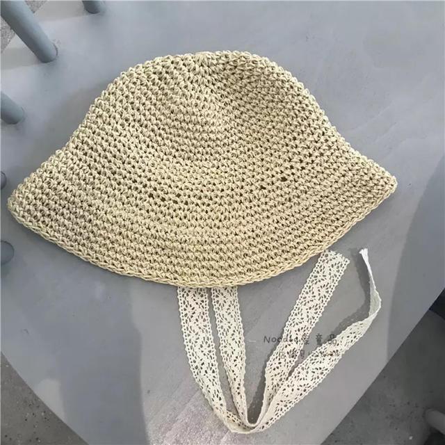 ZARA(ザラ)のキッズ 帽子 麦わら帽子 麦わら帽子 お出かけ 赤ちゃん 春夏 可愛い キッズ/ベビー/マタニティのこども用ファッション小物(帽子)の商品写真