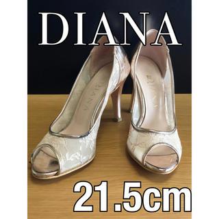ダイアナ(DIANA)の★1点限り DIANA ダイアナ パンプス  ベージュ×ピンク(ハイヒール/パンプス)