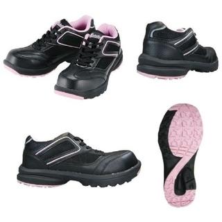 女性用 安全靴 メダリオンセーフティー#507 レディース 24.0cm  (その他)