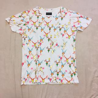 ツモリチサト(TSUMORI CHISATO)のツモリチサト 総柄 Tシャツ サイズ2(Tシャツ/カットソー(半袖/袖なし))