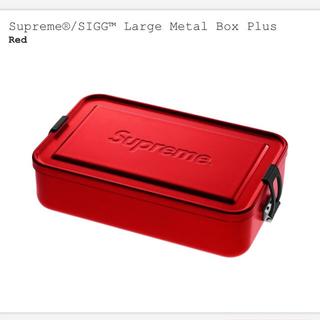 シュプリーム(Supreme)のSupreme SIGG Large Metal Box Plus Red(小物入れ)
