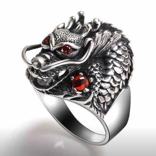 新品未使用 ドラゴンリング メンズ アクセサリー(リング(指輪))