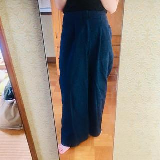 BABYLONE - バビロン★デニム ワイドパンツ★Mサイズ★裾スレあり
