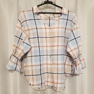 ディスコート(Discoat)のフロントボタン シャツ(シャツ/ブラウス(半袖/袖なし))