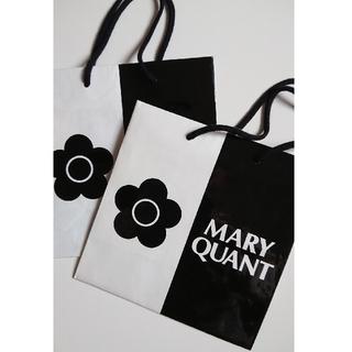 マリークワント(MARY QUANT)のマリクワ ショップ袋二枚セット(ショップ袋)